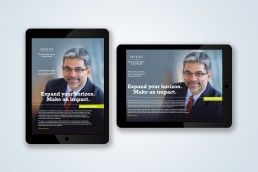 INSEAD tablet ads