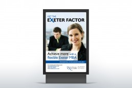 Exeter Outside Advertising Poster